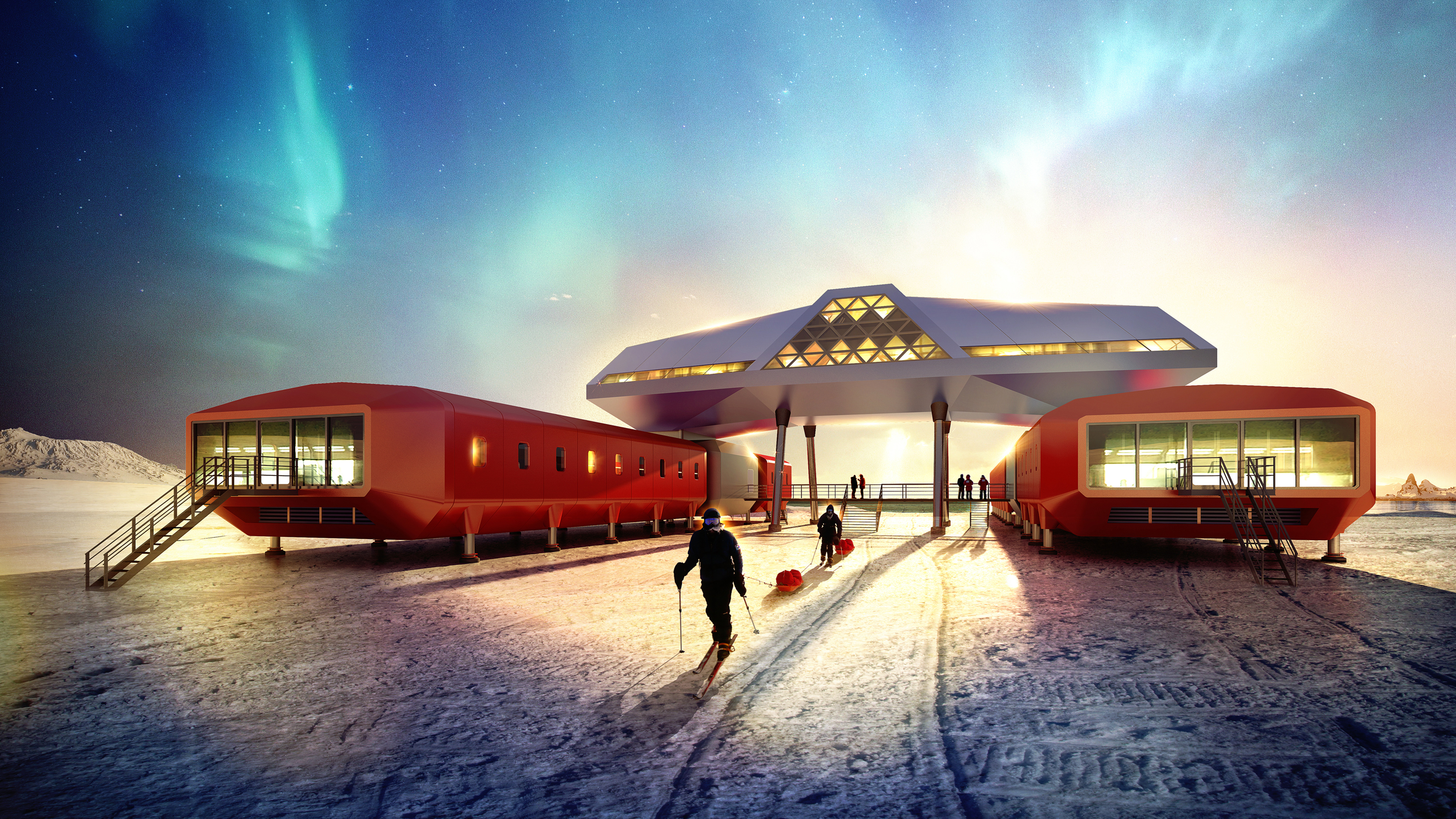 Home Design Co Jang Bogo Korean Antarctic Research Station Hugh