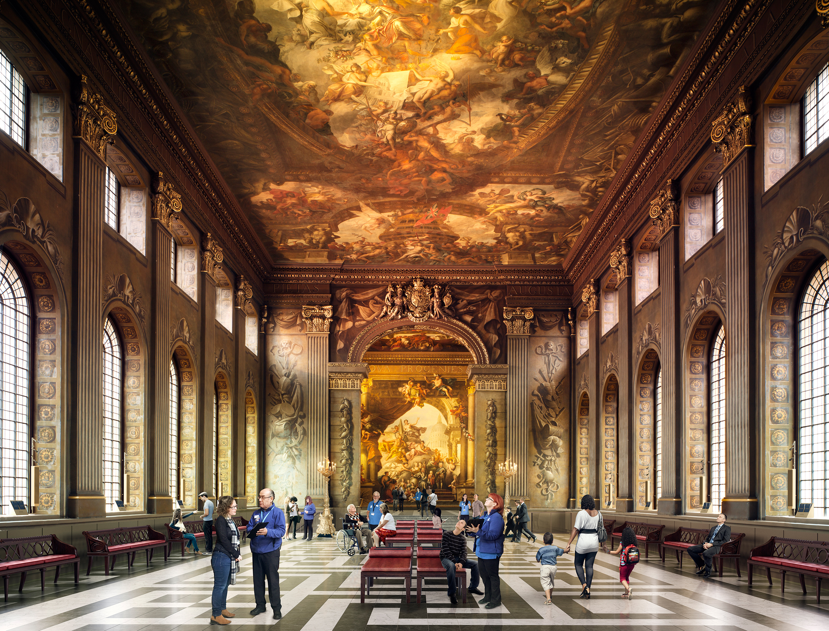Green light for work at Greenwich's Painted Hall | News ...
