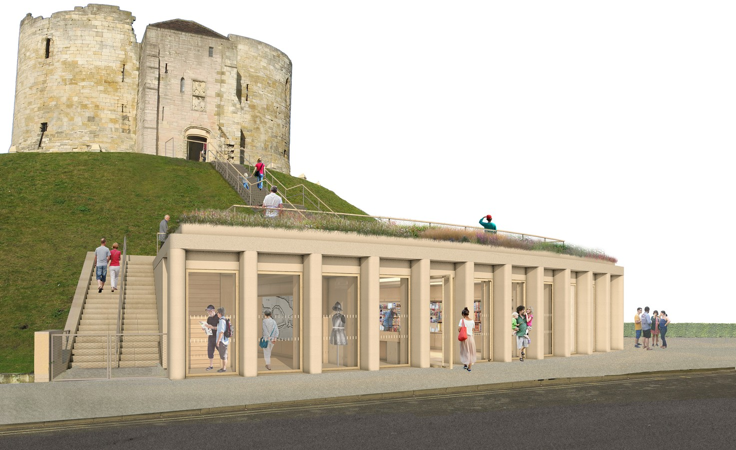 Clifford's Tower 3