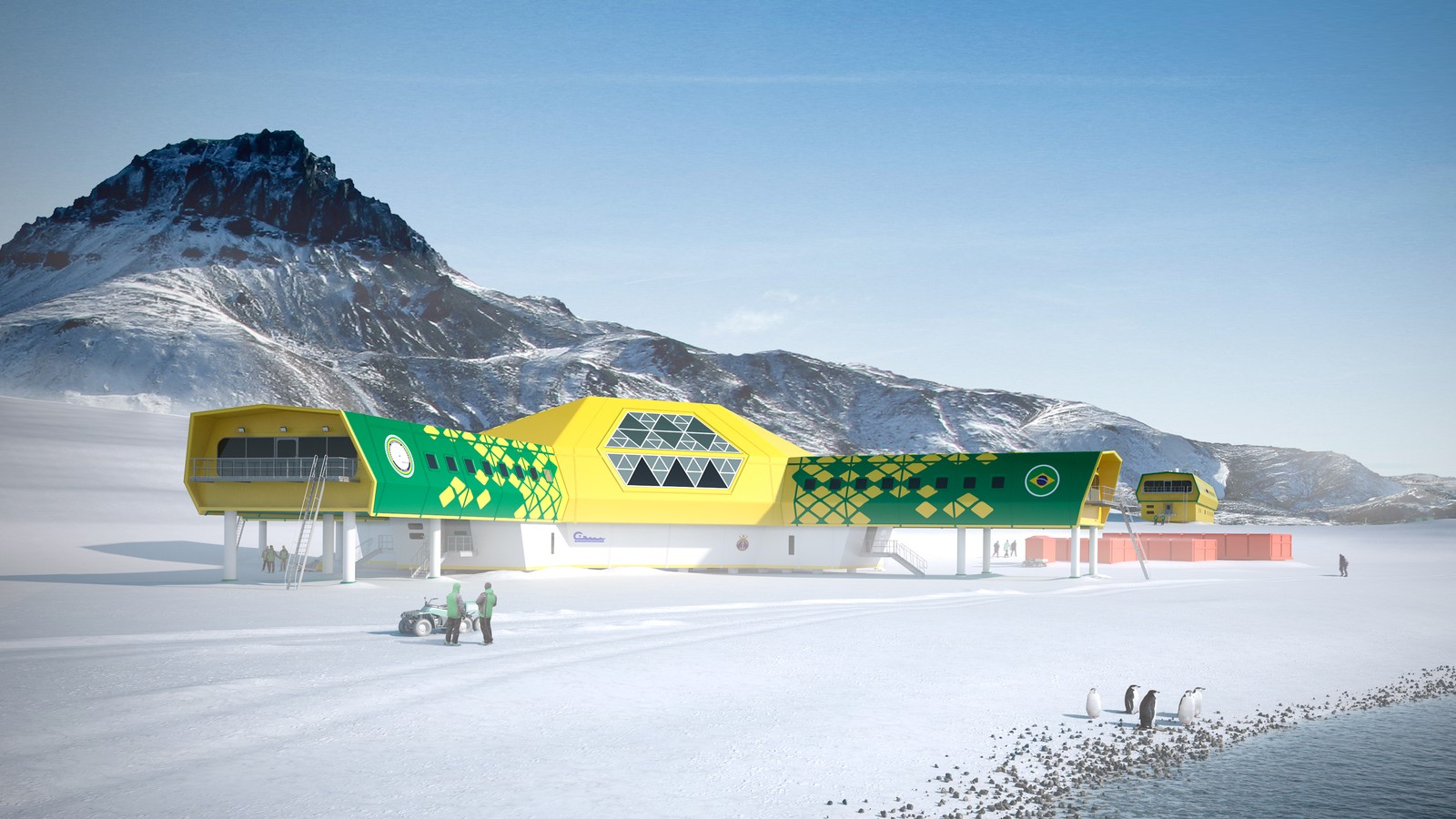 Comandante Ferraz Antarctic Research Station 3