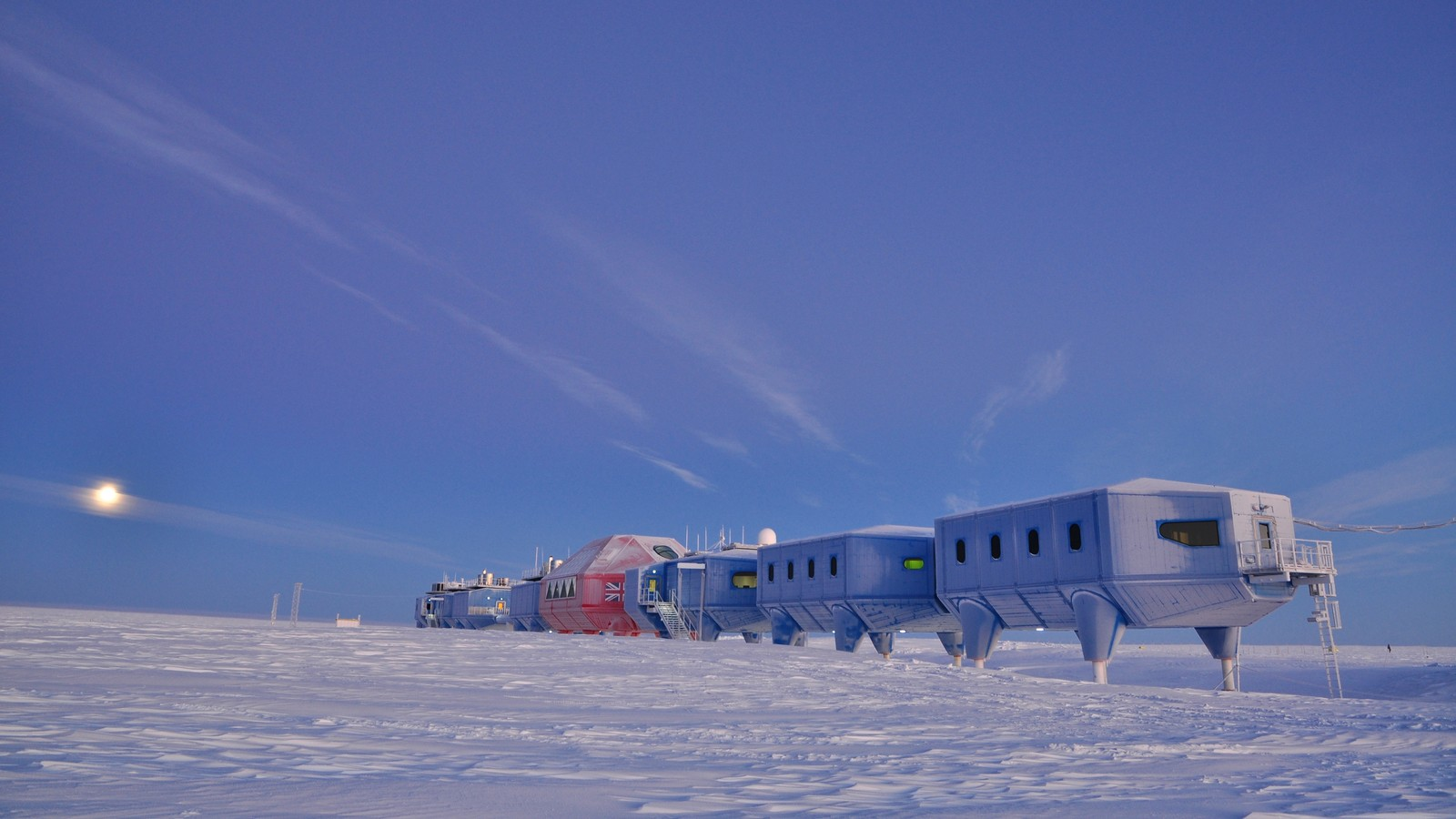 Halley VI British Antarctic Research Station 3