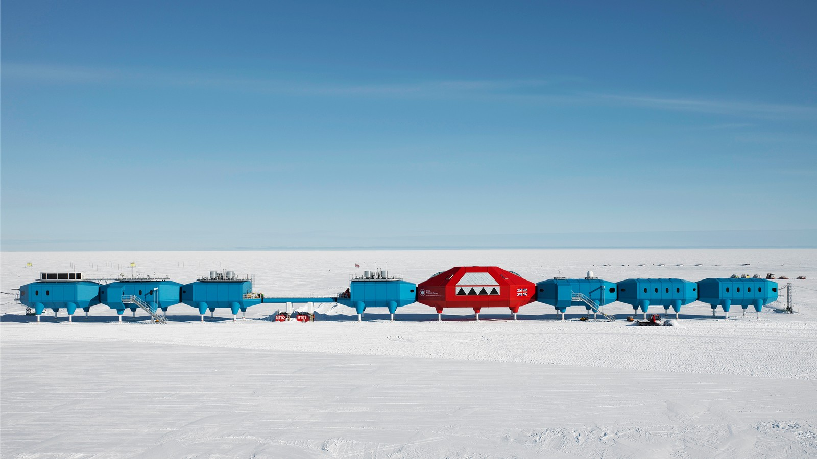 Halley VI British Antarctic Research Station 1