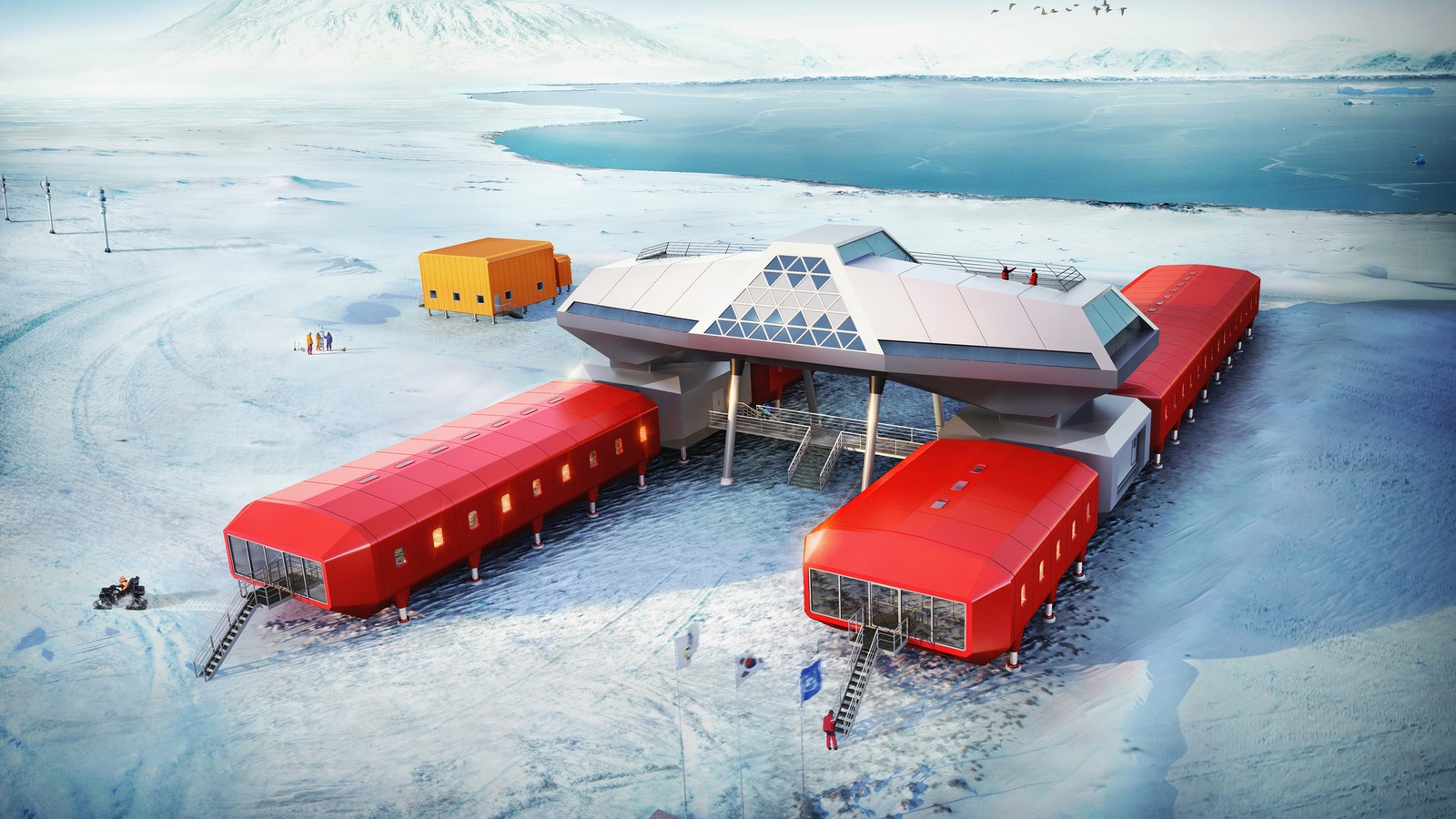 Jang Bogo Korean Antarctic Research Station 1