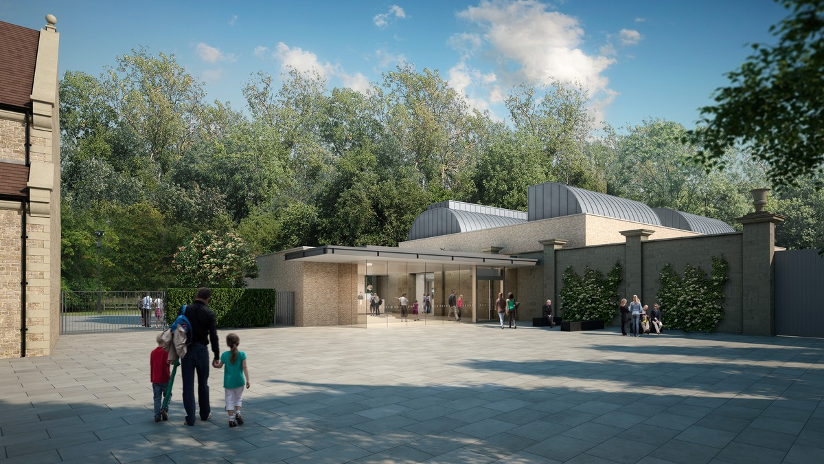 CGI visual of the new gallery for The Portland Collection