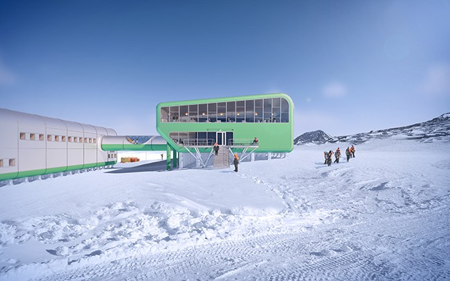 HBA is currently working on the redevelopment of Scott Base for Antarctica New Zealand