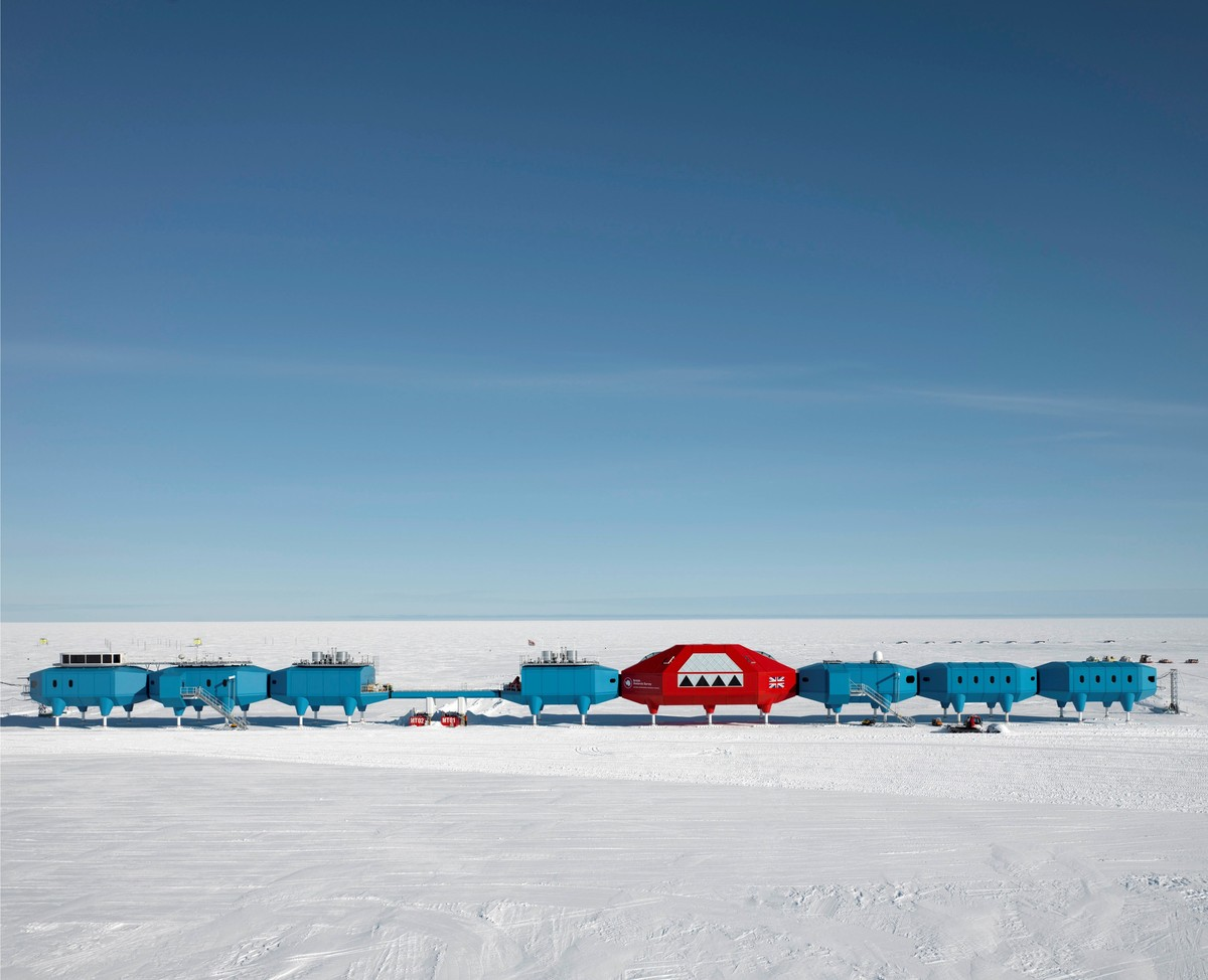 The British Antarctic Survey's Halley VI research station is among the bases in extreme locations on Earth offering inspiration for how people could live on Mars JAMES MORRIS