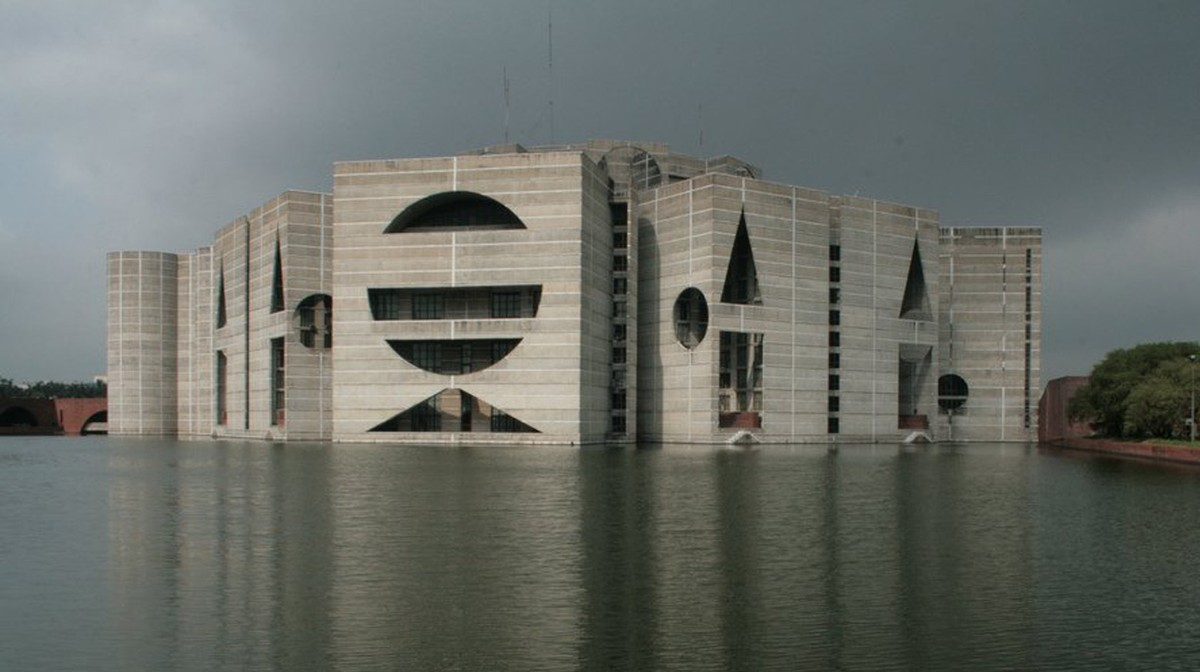 Louis Kahn's National Assembly Building