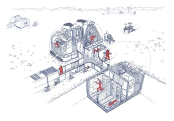 Building a Martian House