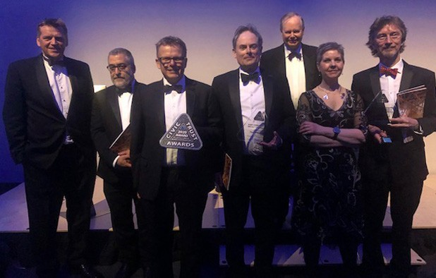 The Painted Hall wins three more awards