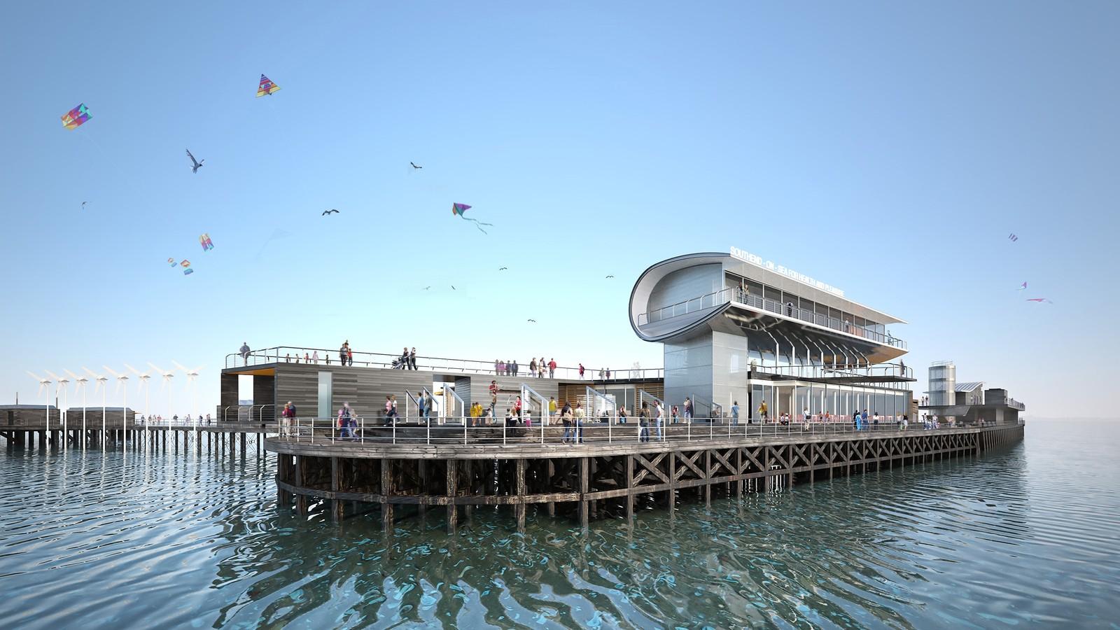 Southend Pier Cultural Centre 2