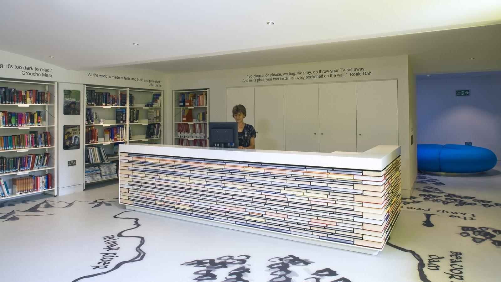 Thomas's Clapham Library 6