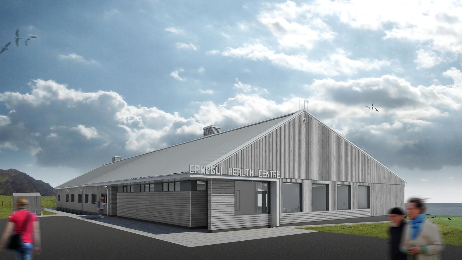 Tristan da Cunha Health Facility 3